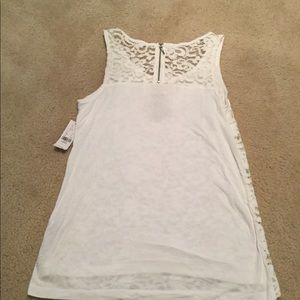 New York & Company Tops - Lace tank top